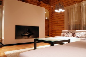 Интерьер деревянного дома в стиле Hi-Tech - Фото