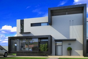 Дом в современном стиле для художника - Проект