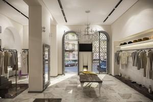Интерьер бутика-ателье в Одессе