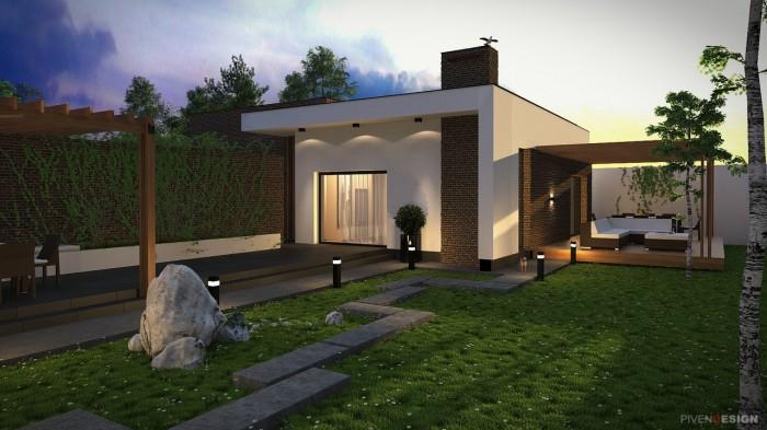 Одноэтажный домик для родителей