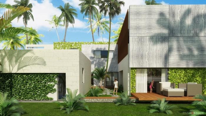 Проект большого двухэтажного дома - Big House