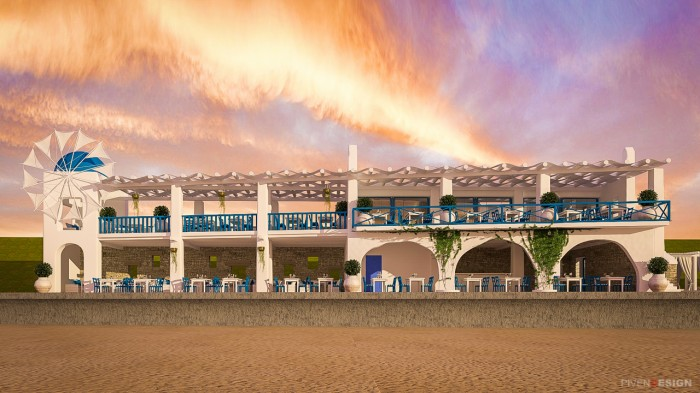 Проект реконструкции ресторана на берегу моря