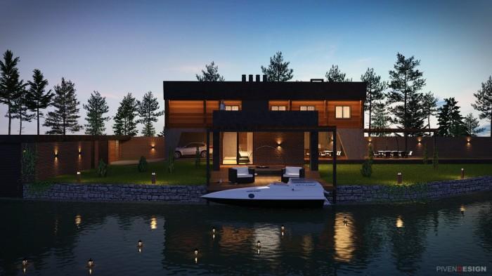 Дом рыбака - проект дома.