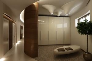 Современный интерьер дома в стиле футуризм
