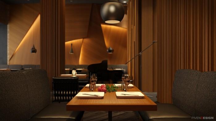 Дизайн интерьера ресторана в Одессе