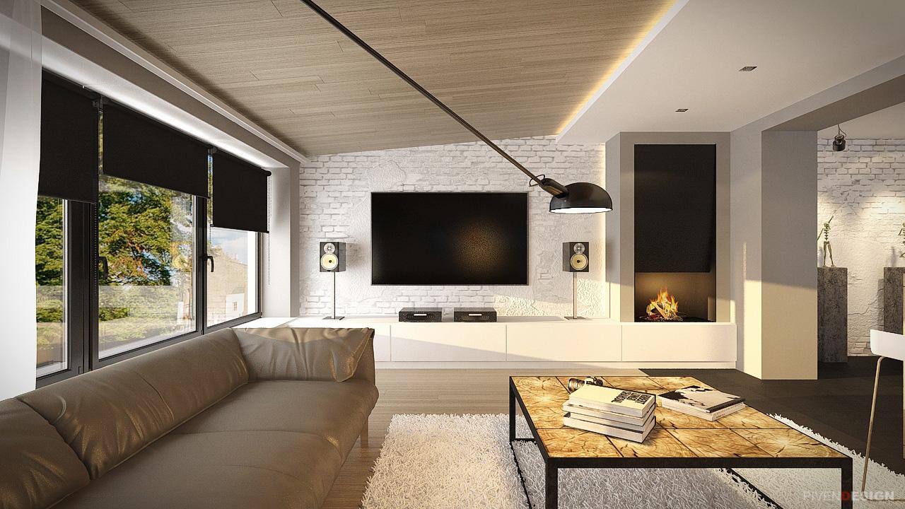 Лофт интерьер трехкомнатной квартиры в Одессе