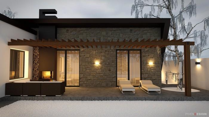 Проект одноэтажного дома в Одессе