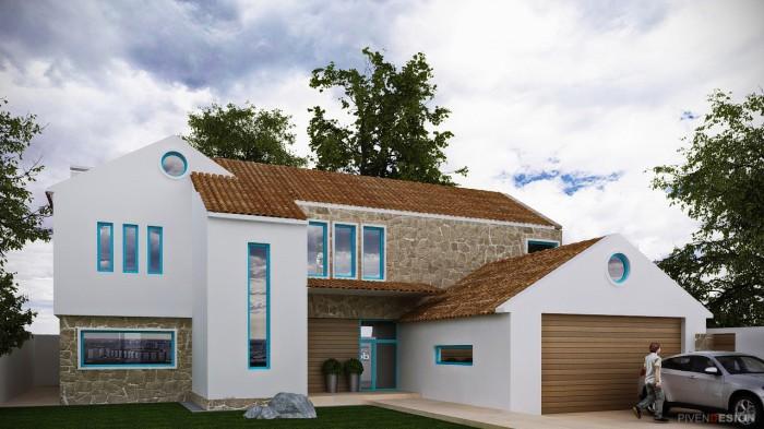 Проект двухэтажного дома - Тоскана 2